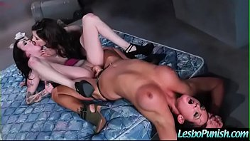 (addison&tory&vera) Lesbian Girls In Punish Hard Sex Scene clip-09
