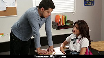 Students strip and run for charity Innocenthigh - ava mendes fucks her teacher for an a