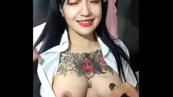 KBJ KOREAN BJ TATTOO 1 - Kimchi.TV pornhub video