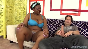 Dick girl sex - Thick big boobed black girl takes white cock