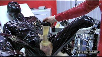 Rubber humiliation cbt nurse fetish Milking machine