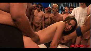 whore gangbanged by 50 dudes 105