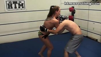 18883 She Fights Like a Beast - Femdom MMA Beatdown preview