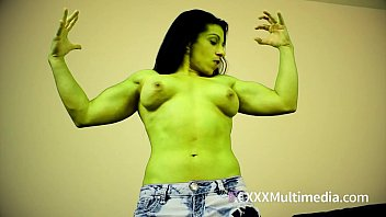 She Hulk Transformation Featuring Alexis Rain
