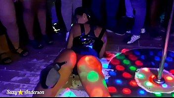 Suzy fucks fan after Stripper show at Carícias swing party 8 min
