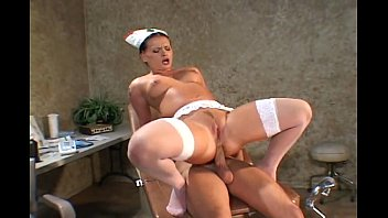 What is an adult nurse practitioner Nurse fucking in stockings and uniform