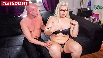 LETSDOEIT - Chubby German Teen Fucked Hard By Mature Boyfriend