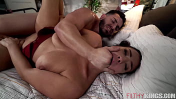 Busty Step-Mom Welcomes Step-Son Home with Her Big Tits - Kitten