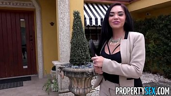 PropertySex - Client finds out hot Latina real estate agent is pornstar thumbnail