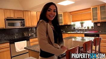 PropertySex - Client finds out hot Latina real estate agent is pornstar porn image
