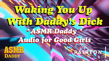 asmr daddy wakes you up with his cock inside you ruins your ass ddlg audio porn