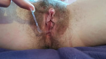 Big Clit Pussy Getting Sucked With Vagina Toy Wet Closeup Hairy Cunt Orgasm
