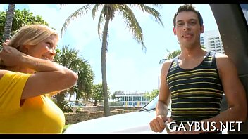 Gay black viedo Guy receives lusty temptation