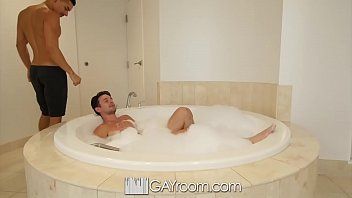 GayRoom After bath fuck with Casey Jacks and Ethan Slade