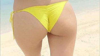 Kawasaki Aya Yellow Bikini thumbnail