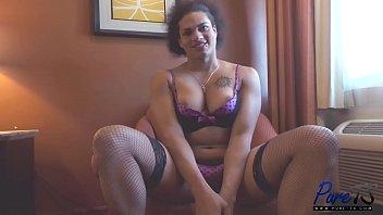 Black tranny show xxx Morena black bts interview