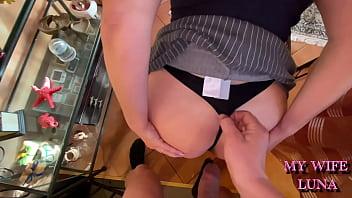 I broke the maid's ass after she sucked my cock like a real slut porno izle