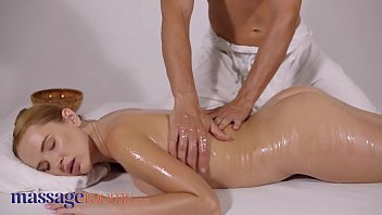 Massage Rooms Big tits Russian beauty Kaisa Nord oil soaked passionate sex