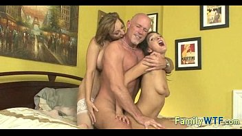Mom and daughter threesome 1024