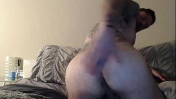 Jordan Levine plays with his ass