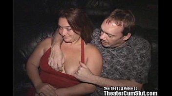 Wild Stripper Melissa Fucks Strangers In A Porn Theater