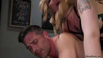 Dominant shemale movie Shemale gives deep throat blowjob