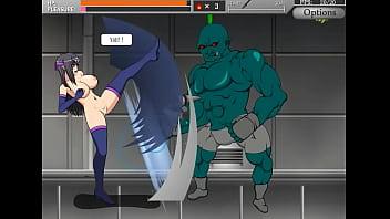 Shinobi Girl Act Hentai Ryona Game Gameplay . Cute Girl Having Sex With Monsters Men And Robots