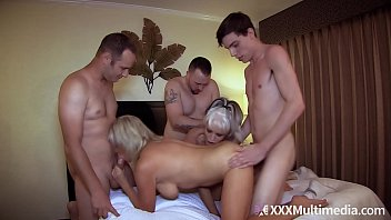 Mommy Has An Orgy With Son and His Friends feat Payton Hall