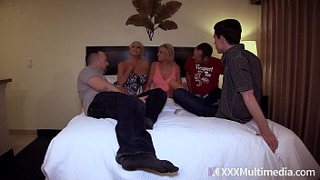 Mommy Has An Orgy With Son and His Friends feat Payton Hall 23 min