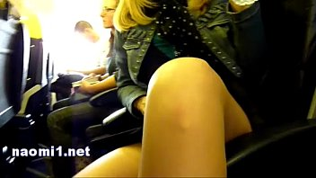 naomi1 airplane handjob 2 min