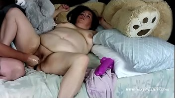 Sexy BBW Plays with Extra Wide Toy - Preview