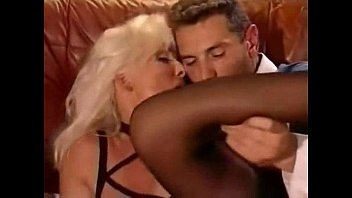 Hot Beautiful Blonde in Lingerie Fucked and Anal, Helen Duval and Philip Dean