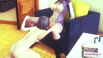 Boruto Naruto Hentai 3D- Himawari & Hinata cunnilingus with squirting - Japanese MAnga anime Porn 10 min