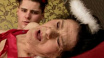Grandma Happy To Do Xxx With Her Big Cocked Nephew