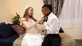 HD wedding night lesbian interracial 38 min