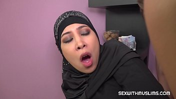 Hot muslim babe gets fucked hard