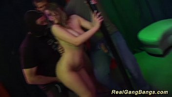black and white in real gangbang party 12 min