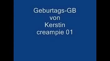 3 Kerle Spritze n Kerstin Voll German creampie German creampie