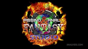 Anal casting for Linda del Sol and Natasha Ink 0% pussy DAP, balls deep anal, rimming, cum swallow, lesbo, 5on2 BBC PAF019