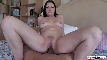 POV style forbidden taboo fuck with stepmother
