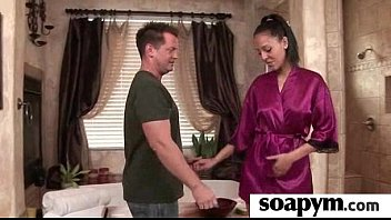 Beautiful masseuse pleasuring her client 22
