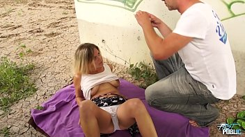 thumb Busty Naive Blonde Fucked By Stranger Under The