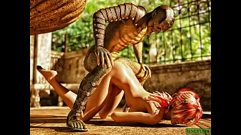 Lizardman Fucks Again. 3D Fantasy Sex porno izle