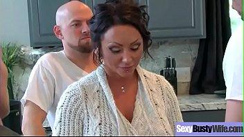 (Ashton Blake) Superb Busty Housewife Get Hard Bang On Cam movie-04