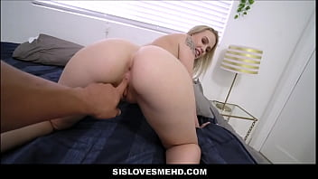 Big Ass Blonde Teen Step Sister Seduces And Gets Fucked By Step Brother POV