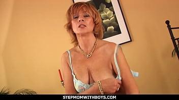 Matura older woman having sex