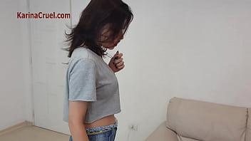 Mistress Karina Cruel Making Eat Their Feet thumbnail