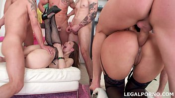 Sperma Party #1, Ariadna Swallow 19 Cumshots. 7 On 2, No Pussy, Gapes Compilation With Vanessa Vaugh
