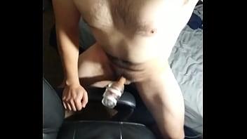 Fleshlight fuck and loud cum splash