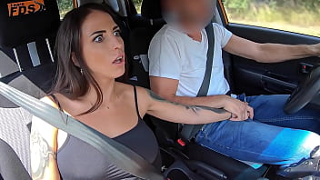 '...And this is the gear stick...' - Busty Latina Student Fucked by her Teacher in the Car 8分钟